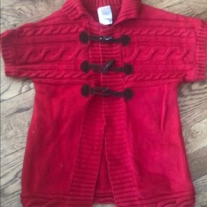 Gymboree shirtsleeve sweater. Size 5